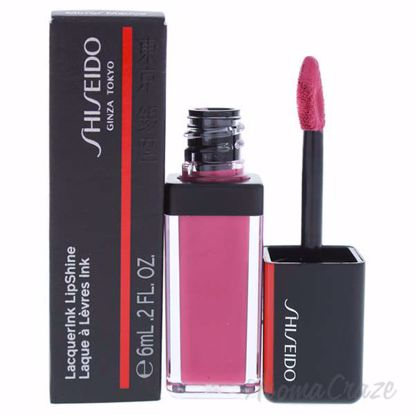 Picture of LacquerInk LipShine - 303 Mirror Mauve by Shiseido for Unisex - 0.20 oz Lip Gloss