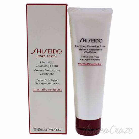 Picture of Clarifying Cleansing Foam by Shiseido for Unisex - 4.6 oz Cleanser
