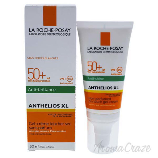 Picture of Anthelios XL Gel-Cream Dry Touch SPF 50 by La Roche-Posay for Unisex - 1.7 oz Sunscreen