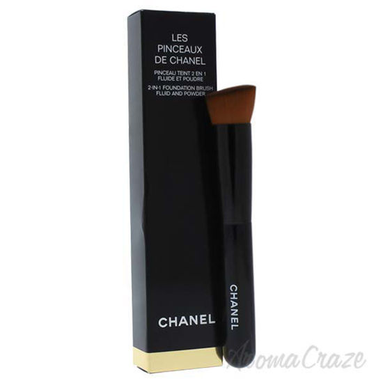 Picture of 2-In-1 Fluid and Powder Foundation Brush by Chanel for Women - 1 Pc Brush