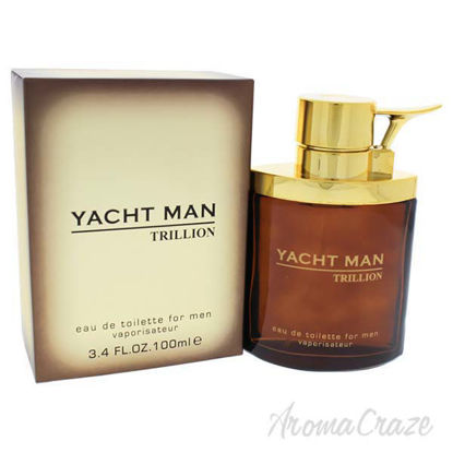 Picture of Yacht Man Trillion by Myrurgia for Men - 3.4 oz EDT Spray