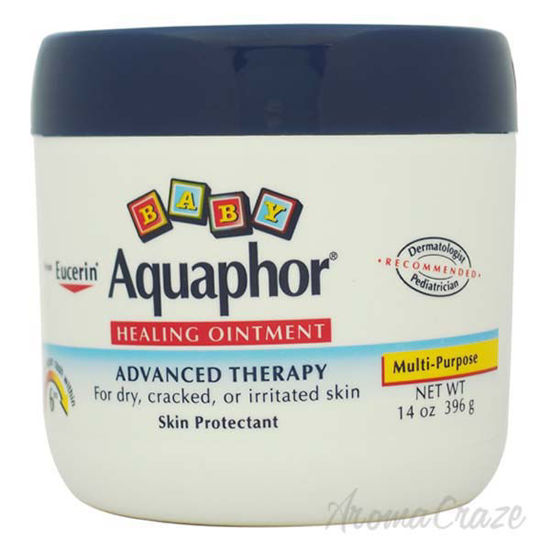 Picture of Aquaphor Baby Healing Ointment For Dry Cracked or Irritated Skin by Eucerin for Kids - 14 oz Skin Pr