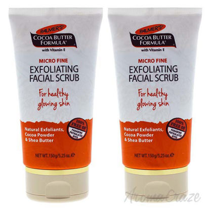 Cocoa Butter Exfoliating Facial Scrub by Palmers for Unisex