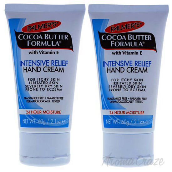 Picture of Cocoa Butter Intensive Relief Hand Cream by Palmers for Unisex - 2.1 oz Cream - Pack of 2