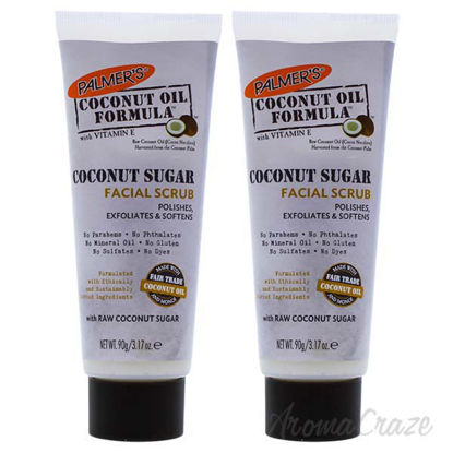 Coconut Sugar Facial Scrub by Palmers for Unisex - 3.17 oz S