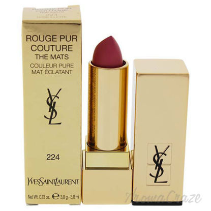 Rouge Pur Couture The Mats - 224 Rose Illicite by Yves Saint