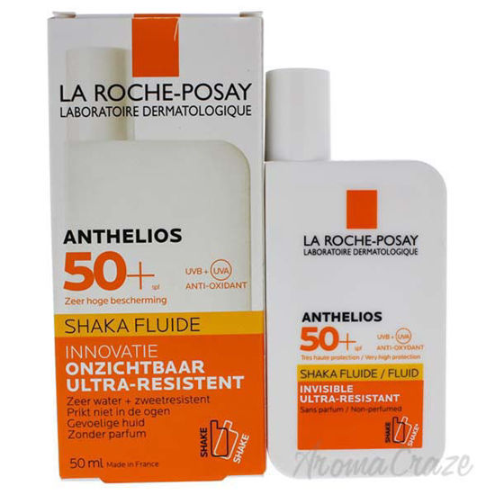 Picture of Anthelios Shaka Fluide Fragrance-Free SPF 50 by La Roche-Posay for Unisex - 1.7 oz Sunscreen
