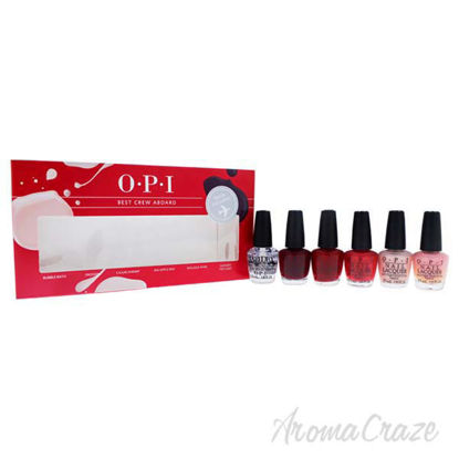 Picture of Best Crew Aboard Nail Polish Set by OPI - 6 x 0.12 oz Nail Polish