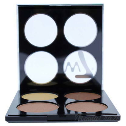 Picture of Strobe Time Shimmering Powders Palette - Vivid Glow by W7 for Women - 0.42 oz Makeup