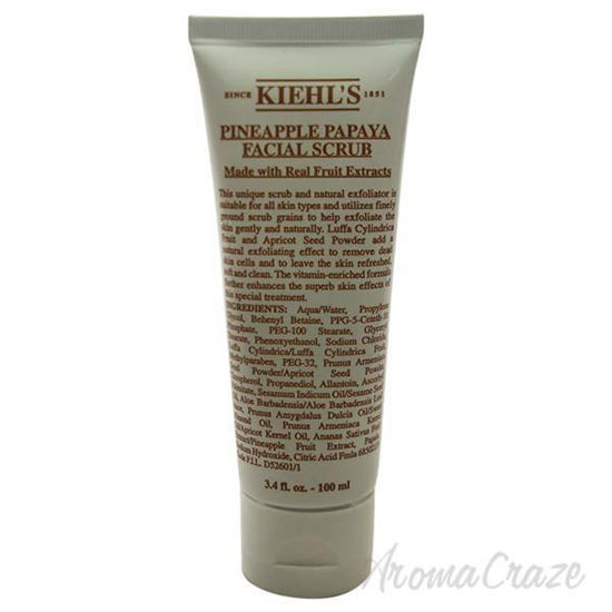 Picture of Pineapple Papaya Facial Scrub by Kiehls for Unisex - 3.4 oz Scrub