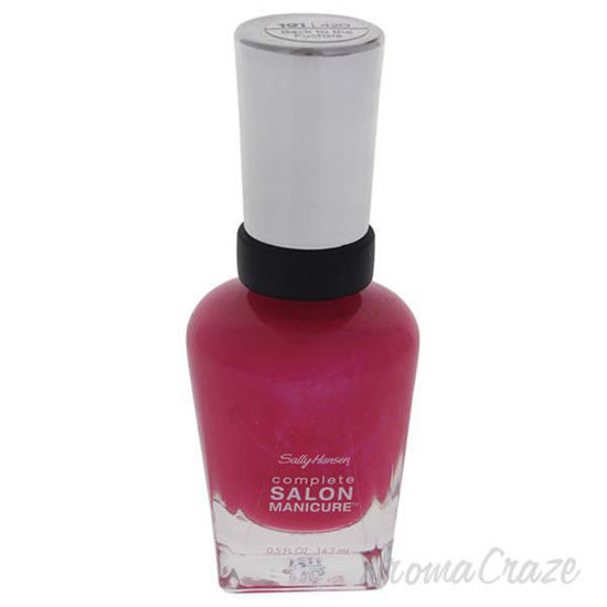 Picture of Complete Salon Manicure - # 191/420 Back to the Fuchsia by Sally Hansen for Women - 0.5 oz Nail Poli
