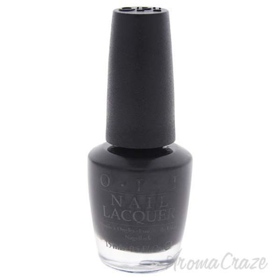 Picture of Nail Lacquer - # HR H03 Black Dress Not Optional by OPI for Women - 0.5 oz Nail Polish