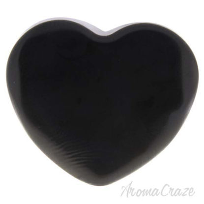 Silicone Heart Puff - Mat Black by Sun Smile for Women - 1 P