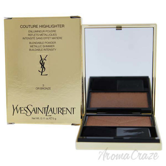 Picture of Couture Highlighter - 3 Or Bronze by Yves Saint Laurent for Women - 0.11 oz Highlighter
