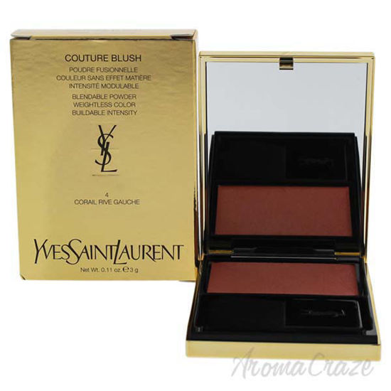 Picture of Couture Blush - 4 Corail Rive Gauche by Yves Saint Laurent for Women - 0.11 oz Blush