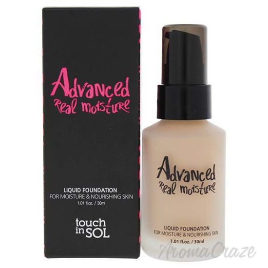 Picture of Advanced Real Moisture Liquid Foundation SPF 30 - 21 Nude Beige by Touch In Sol for Women - 1.01 oz