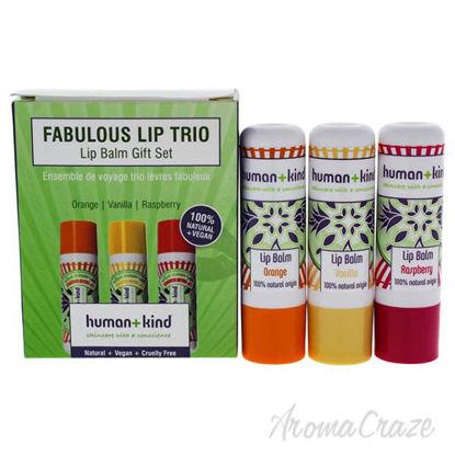Fabulous Lip Balm Trio by Human+Kind for Women - 3 Pc 3 x 0.