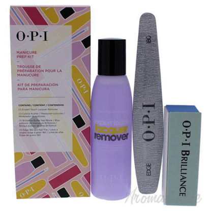 Manicure Prep Kit by OPI for Women - 4 Pc 3.7oz Expert Touch