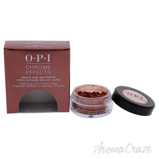 Picture of Chrome Effects Mirror Shine Nail Powder - Great Copper-Tunity by OPI for Women - 0.10 oz Nail Powder