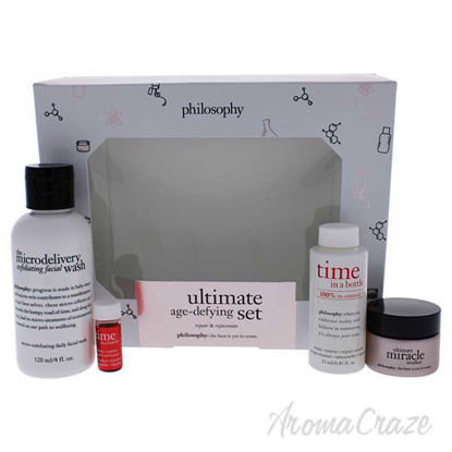 Ultimate Age Defying Kit by Philosophy for Unisex - 4 Pc 4oz