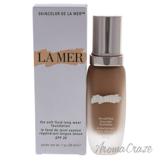 Picture of The Soft Fluid Long Wear Foundation SPF 20 - 11 Shell by La Mer for Women - 1 oz Foundation