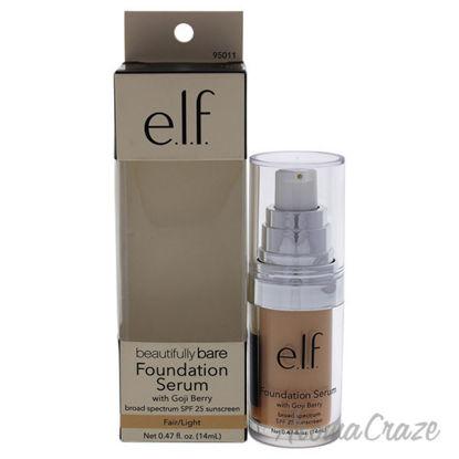 Beautifully Bare Foundation Serum SPF 25 - Fair-light by e.l