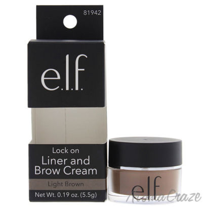 Lock On Liner and Brow Cream - Light Brown by e.l.f. for Wom