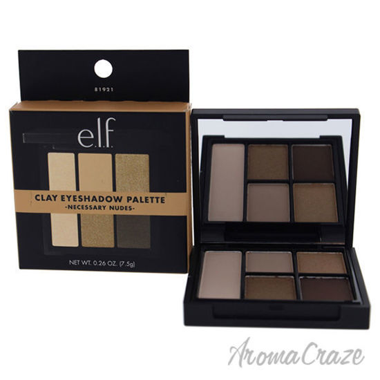 Picture of Clay Eyeshadow Palette - Necessary Nudes by e.l.f. for Women - 0.26 oz Palette