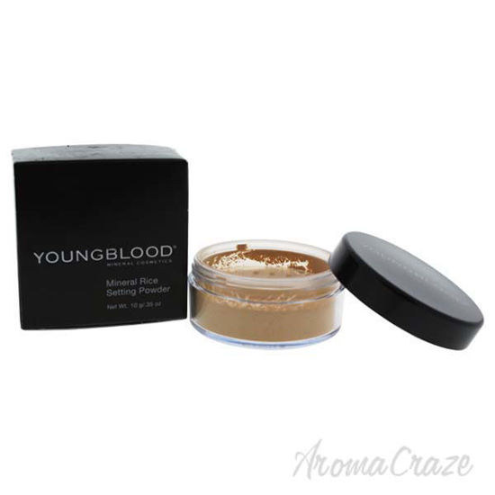 Mineral Rice Setting Powder - Dark by Youngblood for Women -