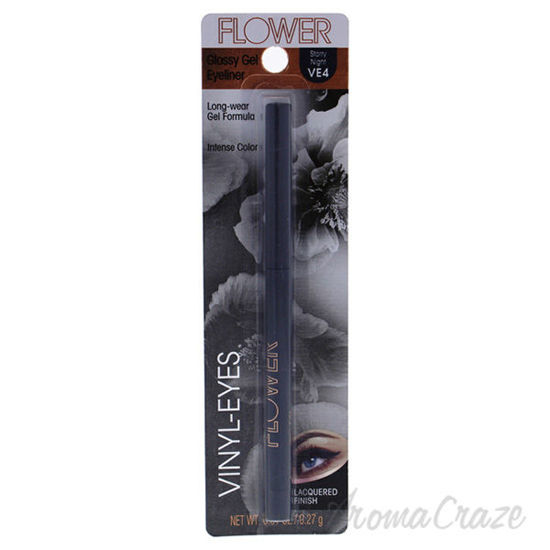 Picture of Vinyl-Eyes Glossy Gel Eyeliner - VE4 Story Night by Flower for Women - 0.01 oz Eyeliner