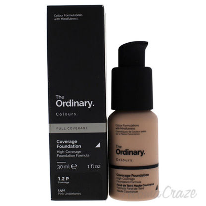 Full Coverage Foundation - 1.2P Light by The Ordinary for Wo