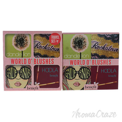 World O Blushes Palette by Benefit Cosmetics for Women - 0.4