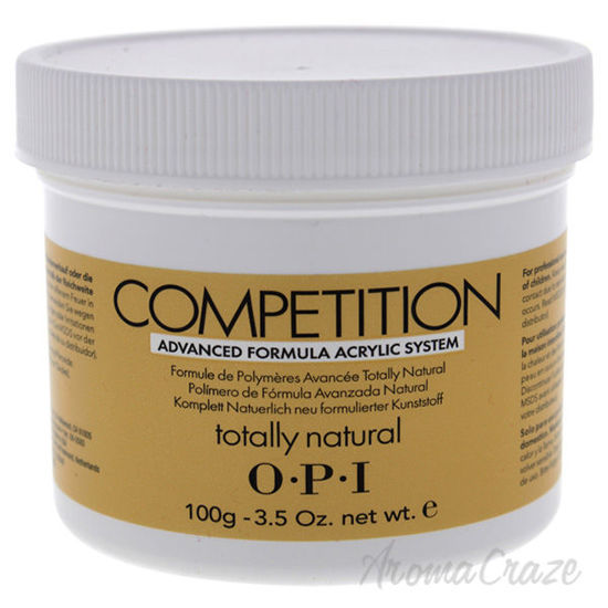 Picture of Competition Totally Natural by OPI for Women - 3.5 oz Acrylic Powder