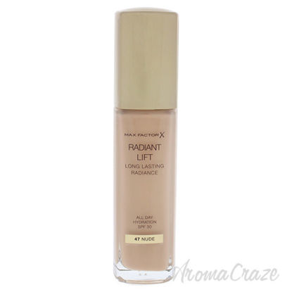 Radiant Lift Foundation SPF 30 - 47 Nude by Max Factor for W