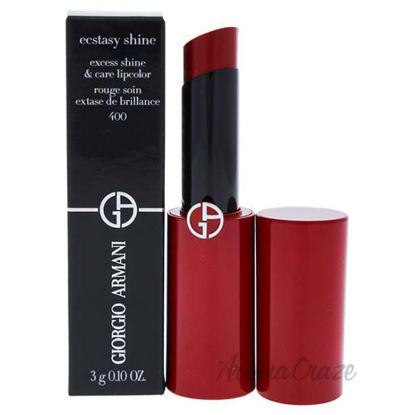 Ecstasy Shine Lipstick - 400 Four Hundred by Giorgio Armani
