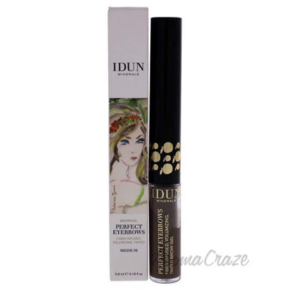 Perfect Eyebrows Gel - 302 Medium by Idun Minerals for Women