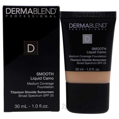 Smooth Liquid Camo Foundation SPF 25 - 0C Linen by Dermablen