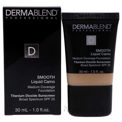Smooth Liquid Camo Foundation SPF 25 - 10N Cream by Dermable