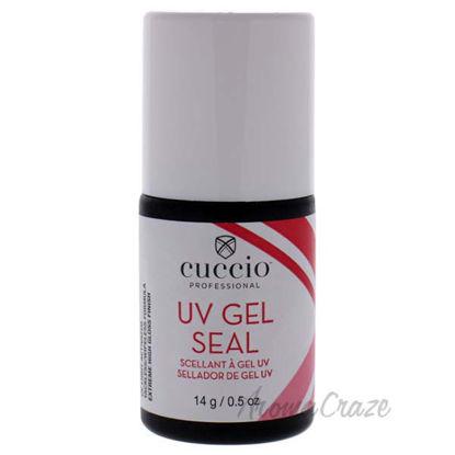 Universal UV Gel Seal by Cuccio Pro for Women - 0.5 oz Top C