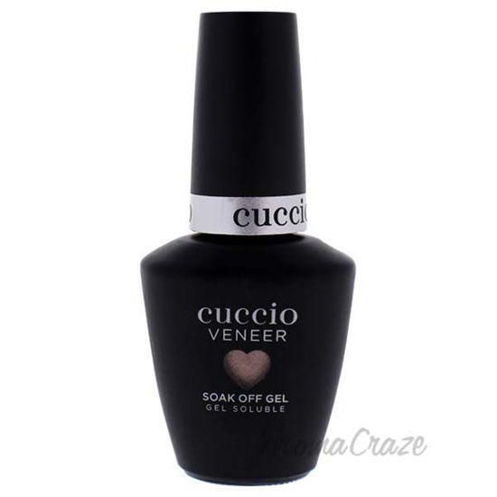 Picture of Veener Soak Off Gel - Rose Gold Slippers by Cuccio for Women - 0.44 oz Nail Polish