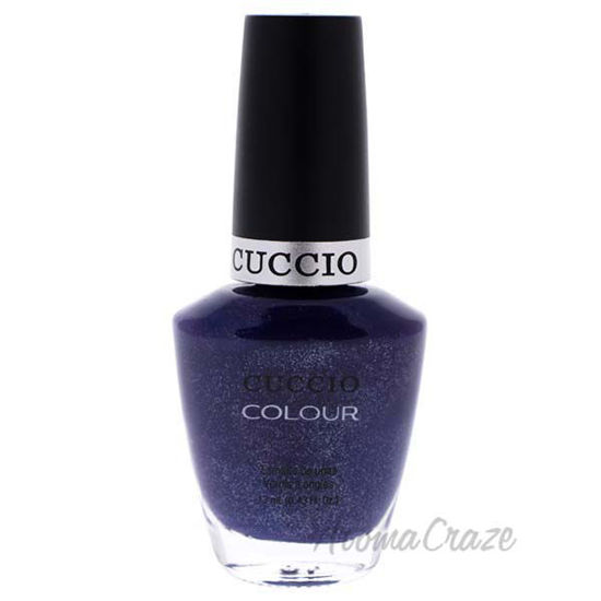 Picture of Colour Nail Polish - Purple Rain In Spain by Cuccio for Women - 0.43 oz Nail Polish