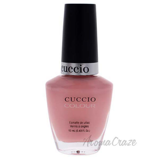 Picture of Colour Nail Polish - Pink Swear by Cuccio for Women - 0.43 oz Nail Polish