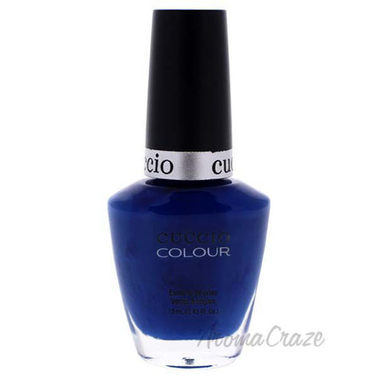 Picture of Colour Nail Polish - Got The Navy Blues by Cuccio for Women - 0.43 oz Nail Polish