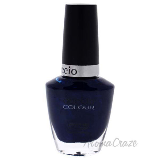 Picture of Colour Nail Polish - On The Nile Blue by Cuccio for Women - 0.43 oz Nail Polish