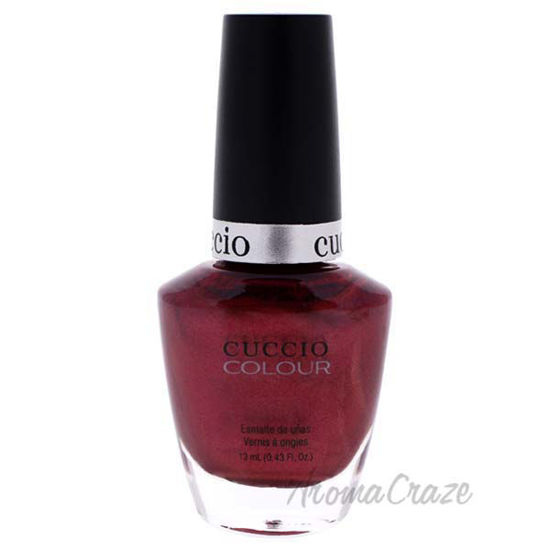 Picture of Colour Nail Polish - Moscow Red Square by Cuccio for Women - 0.43 oz Nail Polish