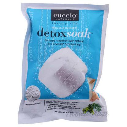 DetoxSoak Pedicure Treatment by Cuccio for Women - 6.3 oz Na