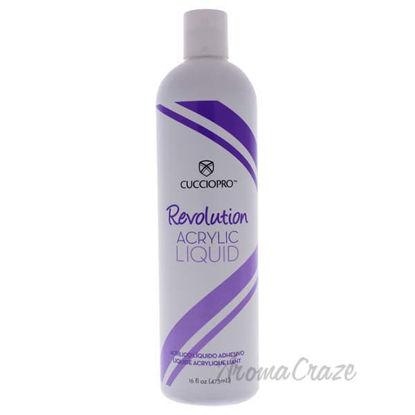 Revolution Acrylic Liquid by Cuccio Pro for Women - 16 oz Ac