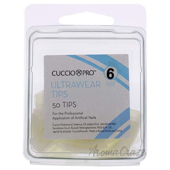 Picture of Ultrawear Tips - 6 by Cuccio Pro for Women - 50 Pc Acrylic Nails