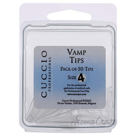 Picture of Vamp Tips - 4 by Cuccio Pro for Women - 50 Pc Acrylic Nails