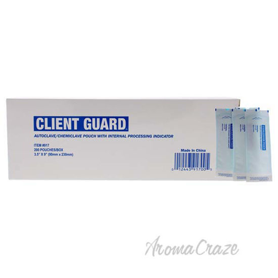 Picture of Client Guard Sterilization Pouches by Cuccio for Women - 1 Pc Nail Pouch